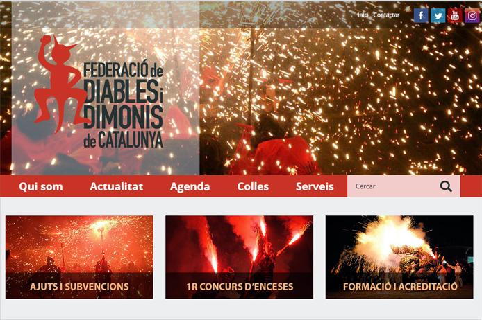 Portal web Diables.cat