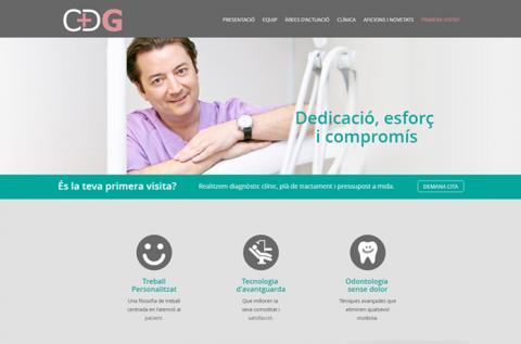 Web de la Clínica Dental Gisbert