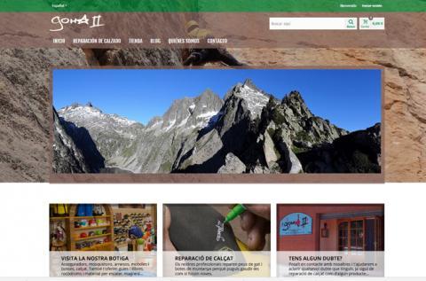 Diseño web de tienda online Goma2