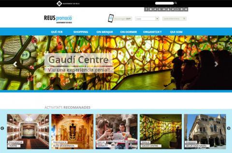 Diseño web Reus promoció / Turisme