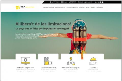 Disseny web Ten Solutions
