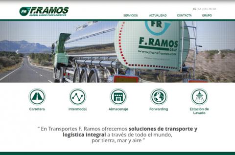 Rediseño web transframos.com