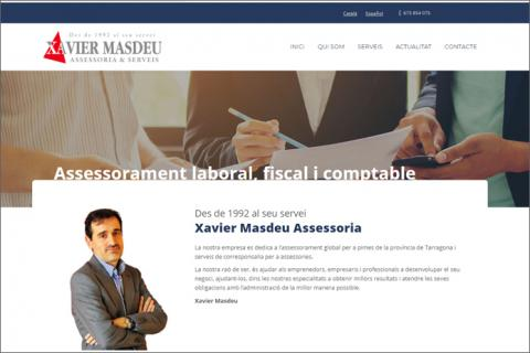 Xaviermasdeu disseny web